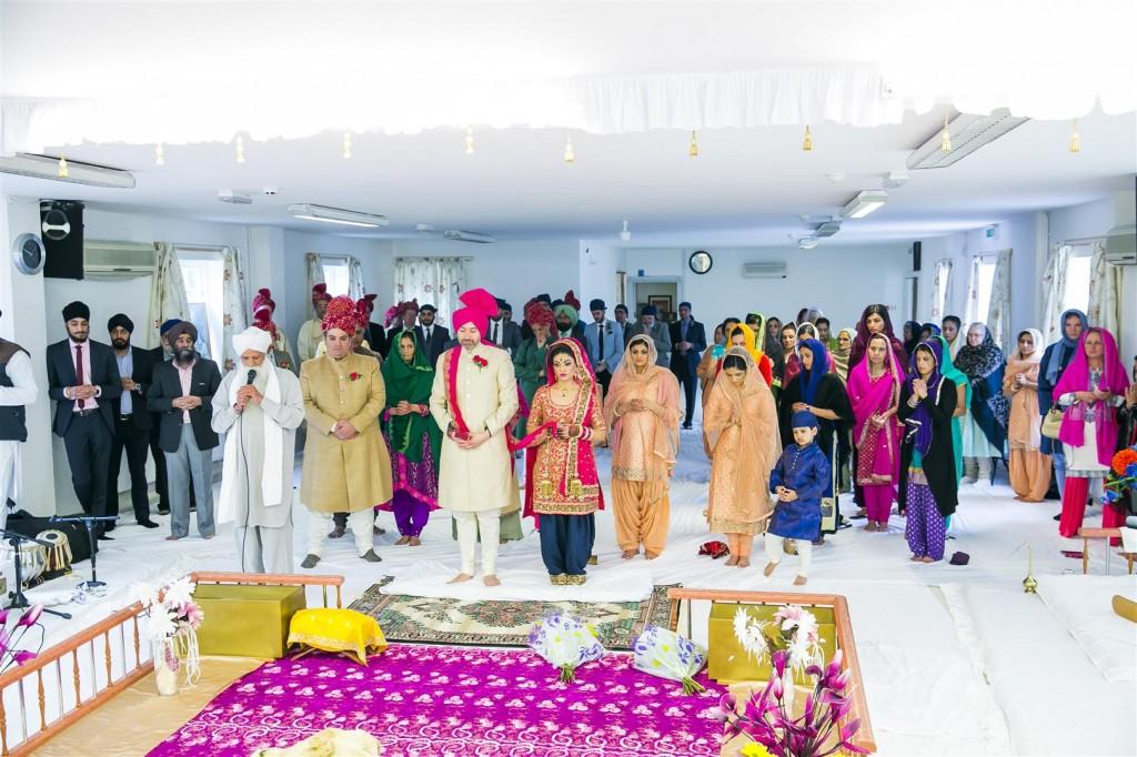 Sikh Wedding Photography – Guhinder and Michael